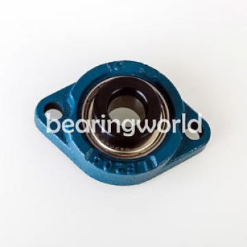 "SALF204-12 619/800F1 Deep groove ball bearings 10009/800  High Quality 3/4"" Eccentric Locking Bearing with 2 Bolt Flange"