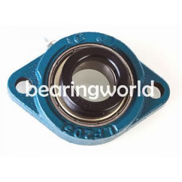 "SALF201-08G FCDP96130420/YA6 Four row cylindrical roller bearings  High Quality 1/2"" Eccentric Locking Bearing with 2 Bolt Flange"