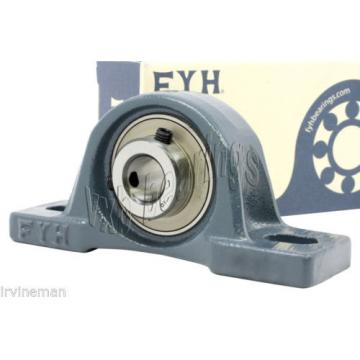 """FYH NCF30/500V Full row of cylindrical roller bearings Bearing NAP201-8 1/2"""" Pillow Block with eccentric locking collar 11120"""