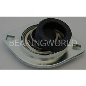 "SAPFL207-20 24120CAX1 Spherical roller bearing High Quality 1-1/4"" Eccentric Pressed Steel 2-Bolt Flange Bearing"
