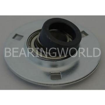 "SAPF206-18 NN3044 Double row cylindrical roller bearings NN3044K High Quality 1-1/8"" Eccentric Pressed Steel 3-Bolt Flange Bearing"