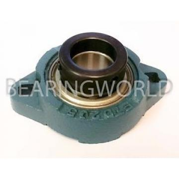 """SAFTD206-17 NCF3032V Full row of cylindrical roller bearings New 1-1/16"""" Eccentric Locking Bearing with 2 Bolt Ductile Flange"""