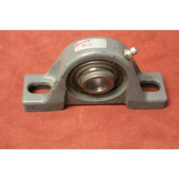 "Browning 7244BM Single row angular contact ball bearings 66244 DT/DB/DF VPE-112 3/4"" ID Pillow Block Ball Bearing, 2 Bolt, Eccentric Lock New"