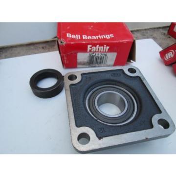 "FAFNIR N320EM Single row cylindrical roller bearings 2320EH VCJ 1-7/16"" Ball Bearing Flanged Bearing 4-Bolt With Eccentric"