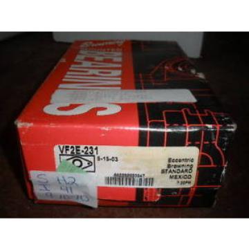 NEW FCD5682300/YA3 Four row cylindrical roller bearings IN BOX NIB BROWNING FLANGE BEARING VF2E-231 ECCENTRIC 1-15/16