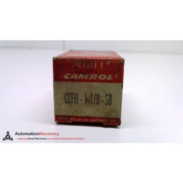"MCGILL CCFH 1-1/8 -SB , FLAT CAM FOLLOWER 1.1250"" X 0.6250"" X 0.6250"", N #216240"
