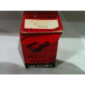 McGill Bearing Cam Follower CF-2-S CF2S
