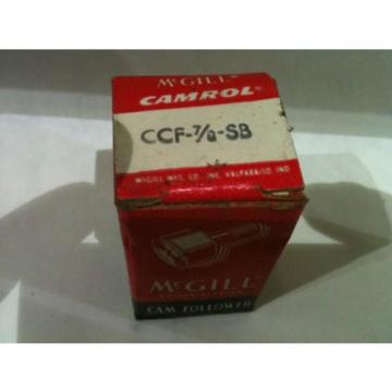 McGill Bearing Cam Follower CCF-7/8-SB