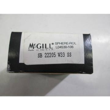 MCGILL, SB22205W33SS SPHERE-ROLL BEARING