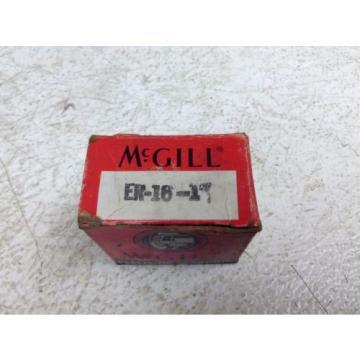 """McGill ER-16-1"""" Bearing ER161"""" New (TB)"""
