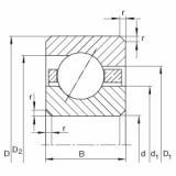 FAG Germany Thin section bearings - CSEB060