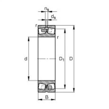 FAG Germany Spherical roller bearings - 248/1600-B-MB