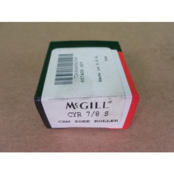 Lot of 4 McGill 607433-307 CYR-7/8-S Cam Yoke Roller