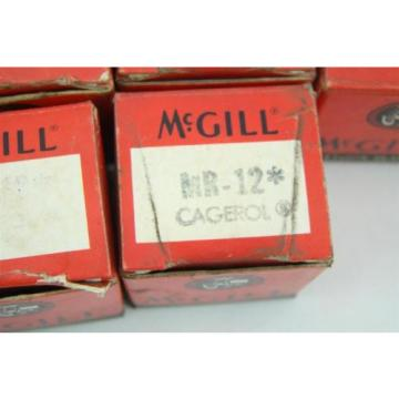 "(10) McGill Cagerol Bearing 3/4"" MR-12"