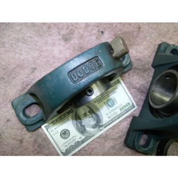 "Dodge McGill pillow block bearing 2"" inch 124137 Cast Steel NEW 1 left"