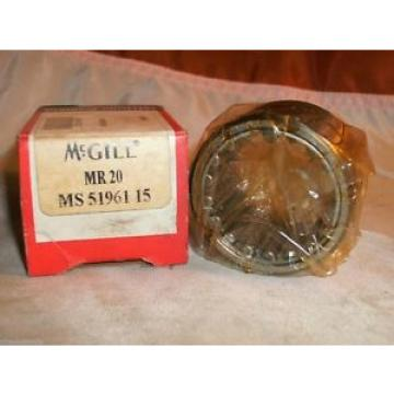 MCGILL MR 20 CAGED ROLLER BEARING MR20 NEW