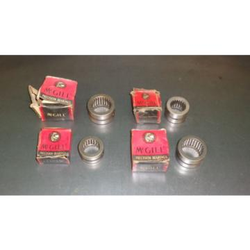 (4) New Mcgill Caged Needle Bearing Lot MO-16 MO-20-N MO-16-N