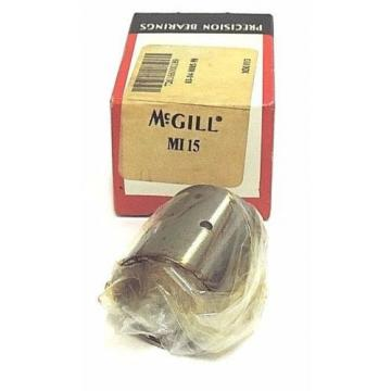 NIB MCGILL MI15 BEARING NEEDLE 15/16 X 1-1/8 X 1-1/4INCH