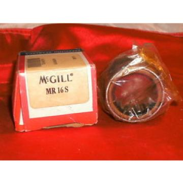 MCGILL MR 16 S CAGED ROLLER BEARING MR16S