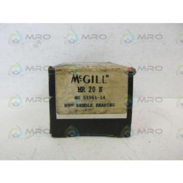 MCGILL MR-20-N NEEDLE ROLLER BEARING *NEW IN BOX*