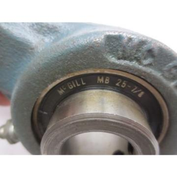 "McGill MB 25-7/8 Bearing Insert (7/8"" ID) With F2-05 Two Bolt Flange Mount"