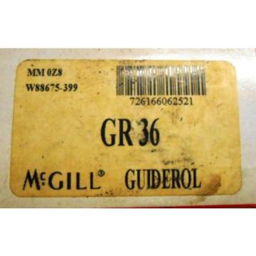 "MCGILL PRECICION BEARINGS, GR 36, GUIDEROL, 3"" OD"