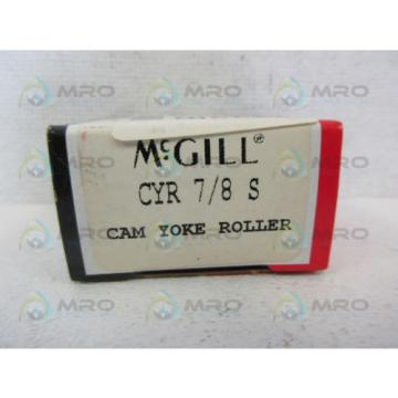 MCGILL CYR-7/8-S CAM YOKE ROLLER BEARING *NEW IN BOX*