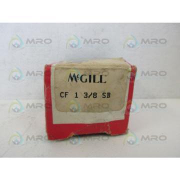 MCGILL CF-1-3/8-SB CAM FOLLOWER BEARING *NEW IN BOX*