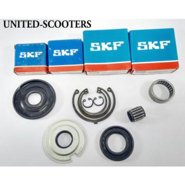 Vespa VBA1T VLB1T VBC1T Sprint Engine Bearings Oil Seals Circlips SKF New V1510