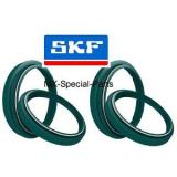 2x SKF WP 48 fork dust oil seals KTM EXC EXCF 125 250 300 350 450 500 530 EXC-F